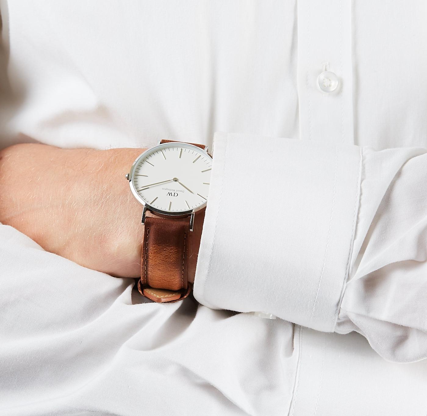 Daniel Wellington Classic Durham horloge (40 MM) DW00100110