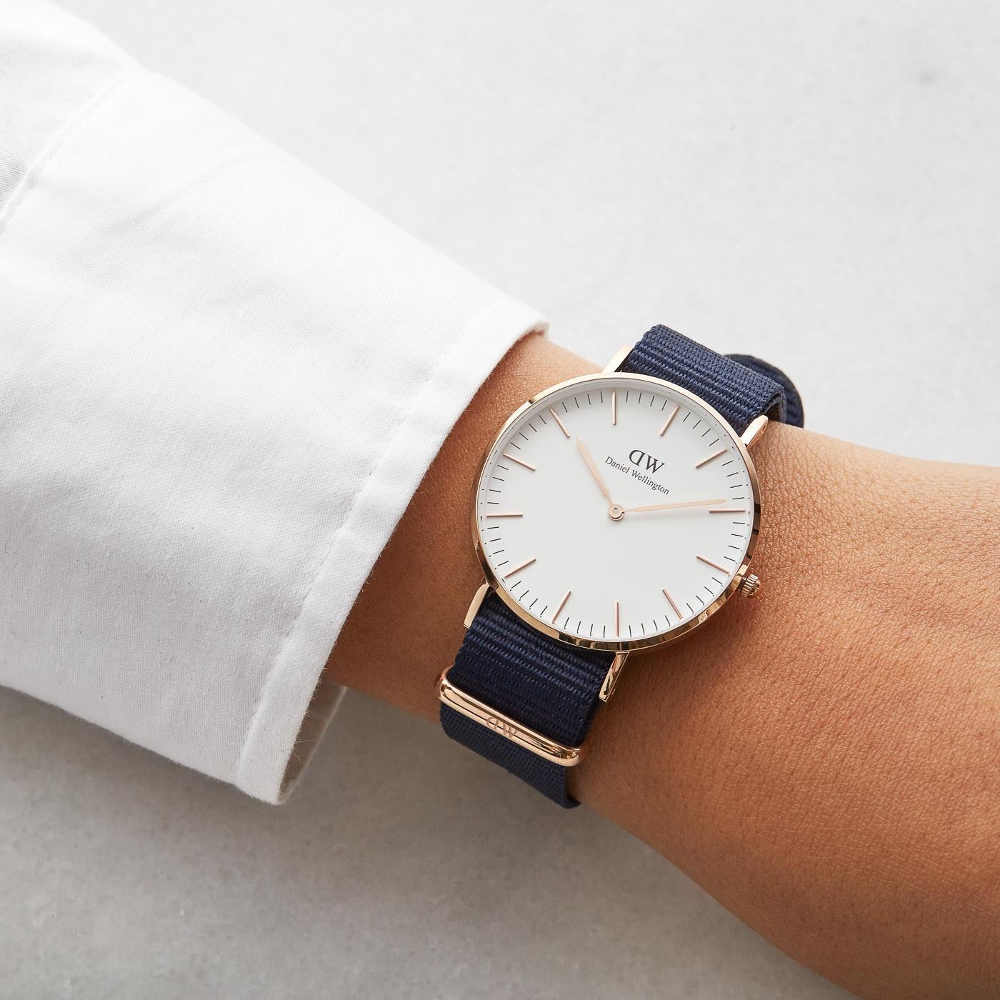 Daniel Wellington Classic Bayswater horloge DW00100279 (36 mm)