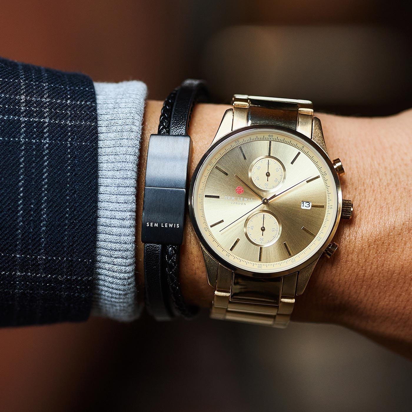 Sem Lewis Bakerloo Charing Cross Armband SL210026 (Lengte: 21.00 cm)