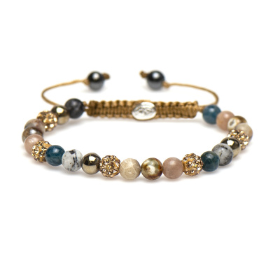 Karma Spiral Yvet Armband 83298 (Längd: 17.50-19.00 cm)