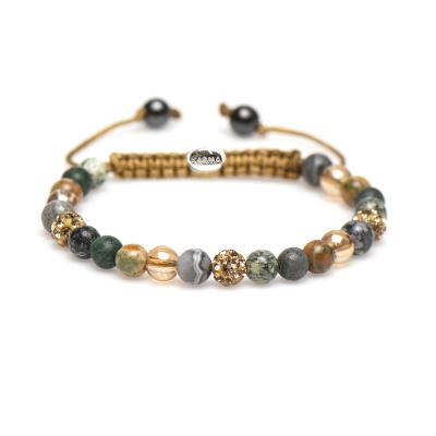 Karma Sprial Mylou Armband 83304 (Längd: 17.50-19.00 cm)
