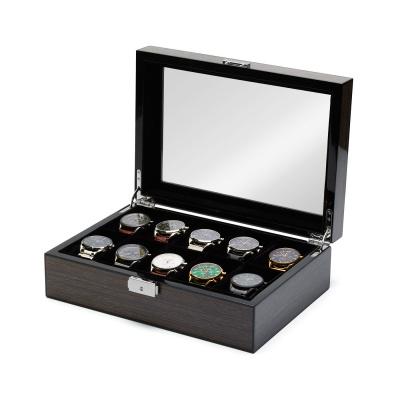 Mats Meier Mont Fort grijze horlogebox voor 10 horloges