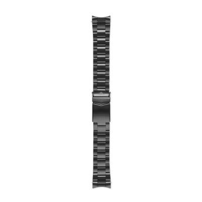 Sem Lewis Lundy Island Diver Strap 20mm Mat Zwart SL620017