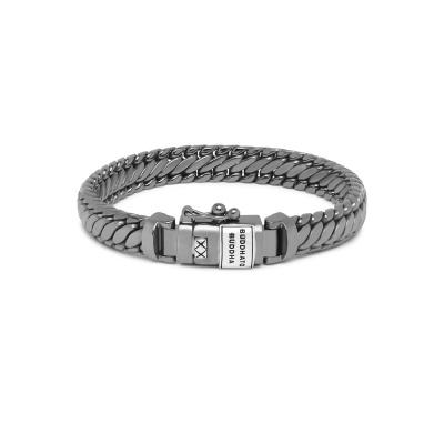 Buddha to Buddha Black Rhodium Heritage Ben XS Armband J070BRSS (Lengte: 17.00-21.00 cm)
