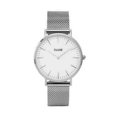 CLUSE Boho Chic Zilverkleurig Horloge CW0101201002