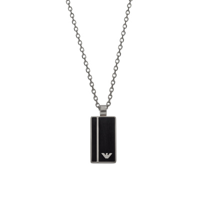 Emporio Armani Black Geometries Ketting EGS2031040