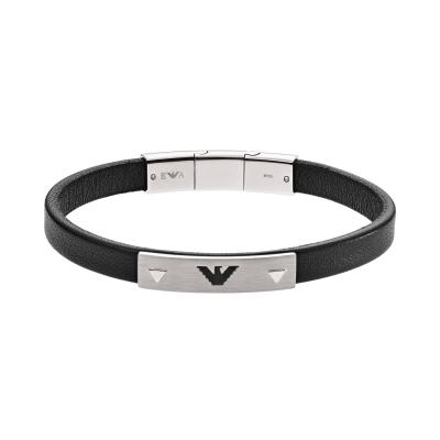 Emporio Armani Signature Zilveren Armband EGS2411040 (Lengte : 17.50-19.50 cm)