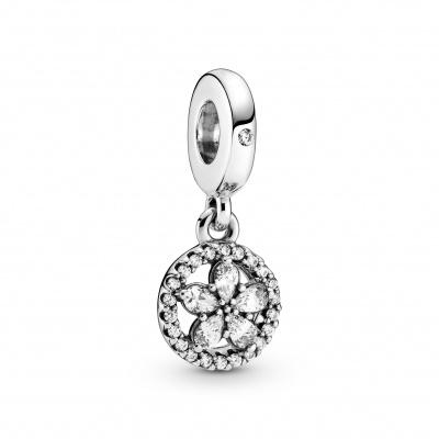 Pandora 925 Sterling Zilveren Snowflake Bedel Met Zirkonia 799222C01
