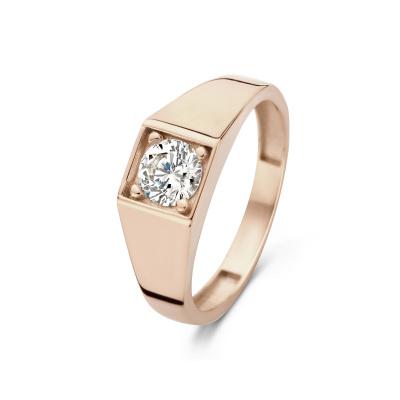 Isabel Bernard La Concorde Lauren 14 Karaat Rosé Gouden Ring IB330033