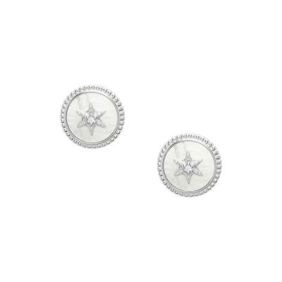 Fossil Sterling Silver örhänge JFS00500040