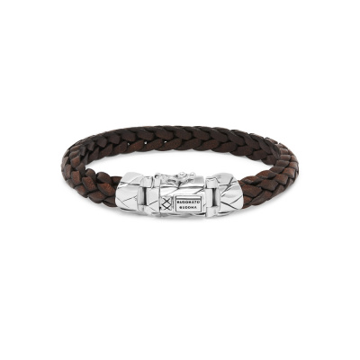 Buddha to Buddha Mangky Small Leather Armband 126BR (Lengte: 19.00-23.00 cm)