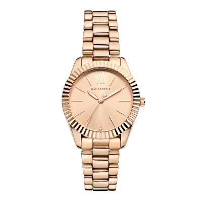 May Sparkle Luxurious Life Lala Roségoudkleurig horloge MSA014