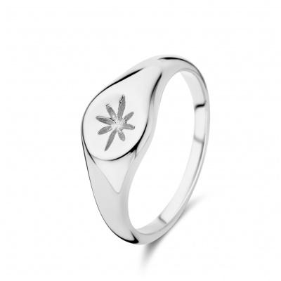 May Sparkle Summer Breeze Rosa Zilverkleurige Ring MS330001