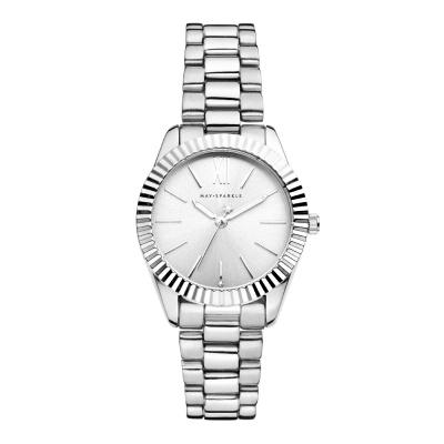 May Sparkle Luxurious Life Dahlia Zilverkleurig horloge MSA001