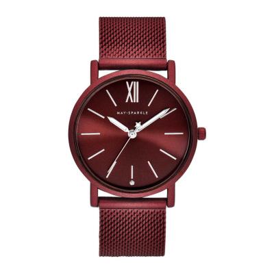 May Sparkle Midnight Sparkle Rood horloge MSD005
