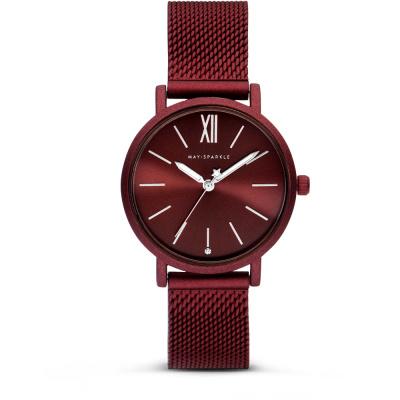 May Sparkle Midnight Sparkle Bruin horloge MSD006