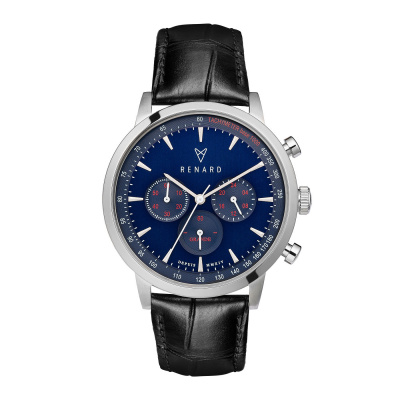 Renard Grande Chrono horloge RC402SS41CBL
