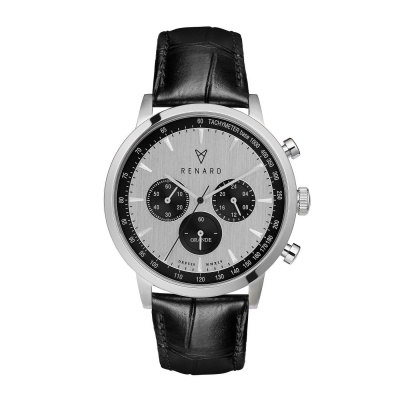 Renard Grande Chrono horloge RC402SS13CBL