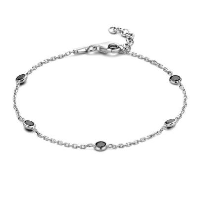 Selected Jewels Lina Ava 925 Sterling Zilveren Armband SJ320003 (Lengte: 17.00-19.00 cm)