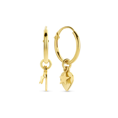 Selected Jewels Lizzy Maja 925 Sterling Zilveren Oorbellen SJ360016