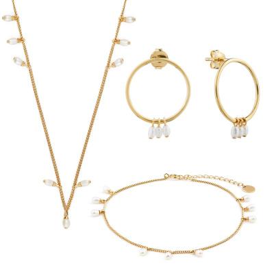 Violet Hamden Luminous Lake 925 Sterlingsilver Guldfärgade smyckenpresenter VH90015